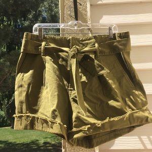 All Saints Oliver Paper Bag Shorts